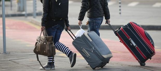 Giovani che partono
